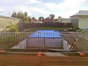 Temporary Pool Fencing – Steel Pipe &  Rod for Safe Protection