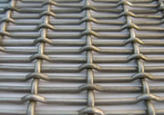 Rectangular Opening Crimped Wire Mesh Features,  Applications